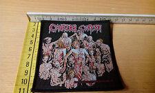 Cannibal Corpse the livello di cessione bassissimo RARE 1994 Patch-Death-Slayer