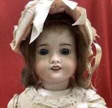 "RARE SFBJ 60 Paris 22"" Bisque Girl Doll Walker Mechanism Works, Lovely!"