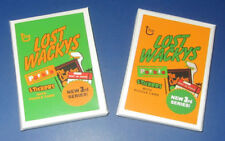 2011 LOST WACKY PACKAGES 3RD SERIES COMPLETE 30/30 SET + PUZZLE - 2 SEALED PACKS