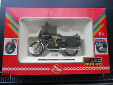 ♥ Guiloy BMW CRS 1:18 Diecast Metal Black  Rare Police Motorcycle   ♥