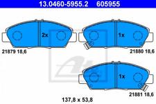 Bremsbelagsatz, Scheibenbremse für Bremsanlage Vorderachse ATE 13.0460-5955.2