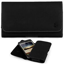 """LEATHER BELT CLIP POUCH HOLSTER FOR IPHONE 6 6S PLUS 5.5"""" EXTENDED BATTERY CASE"""