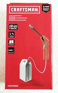 Craftsman Battery Powered Versatile Multi-Purpose Sprayer AA Batteries Included
