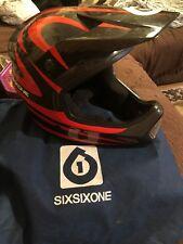 Six Six One Comp Full Face Helmet 661 Carbon BMX/Downhill Mountain Bike