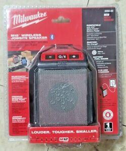 New Milwaukee M12 Bluetooth Wireless Jobsite Speaker Bare Tool #2592-20