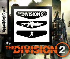 The DIVISION 2 PS4 Controller Light Bar 3x Vinyl Decal Sticker PlayStation 4