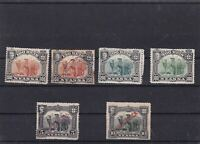 NYASSA  MOUNTED MINT OR USED STAMPS ON  STOCK CARD  REF R842