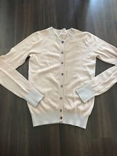 Designer Just In Case Pale Pink Button Down Cardigan Size 42 UK 12 - 14