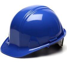 Pyramex Blue Hard Hat 6 Point Ratchet Suspension 9949