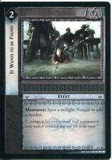 Lord Of The Rings CCG Card MoM 2.U78 It Wants To Be Found