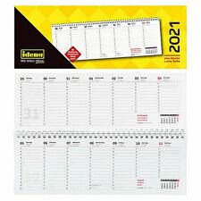Tischkalender Querkalender Kalender 2021   1 Woche 1 Seite