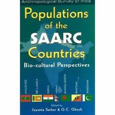 Populationen der SAARC-Länder: Bio-kulturellen Perspe-Hardcover NEU jayanta