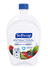 Softsoap Antbcterial Liquid Hand Soap Refill WHITE TEA  BERRY 50 OZ. FREE SHIP!