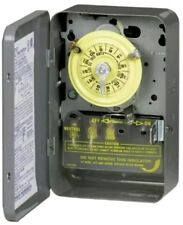 Intermatic 24 Hour Mechanical Time Switch Indoor Installation - T101