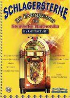 Steirische Harmonika Noten Schlagersterne 30 Evergreens leichte Mittelstufe m CD