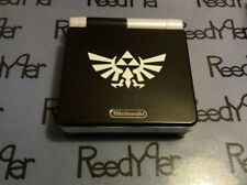 *MINT* Black & White Zelda AGS-101 GameBoy Advance SP Brighter Nintendo System