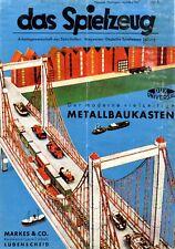 Metallbaukasten Markes Lüdenscheid Reklame 1943 !!! Dux Universal Werbung