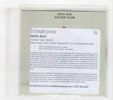 (IG527) Noya Rao, Golden Claw - 2017 DJ CD