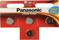 Baterías desechables Panasonic de litio CR2032 para TV y Home Audio