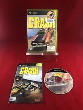 Crash (2002) - Autofahren Zerstörung Microsoft Xbox Spiel-komplett mit Handbuch