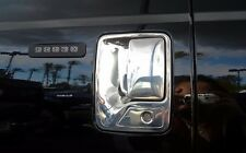 FORD SUPER DUTY F-250/350 2DR 1999-2015 TFP CHROME ABS DOOR HANDLE COVER - 1KH