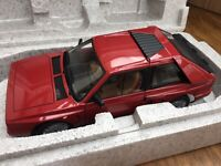AUTOart 74771 LANCIA DELTA S4 STRADALE diecast model road car red body 1985 1:18