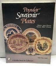 SOUVENIR PLATES BOOK Porcelain Pottery Reference Identification Price Guide