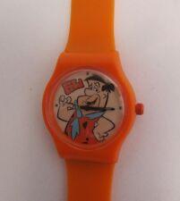 Cartoon watch Pedro Picapiedra * niños cuarzo reloj * Orange * motivo Fred * nuevo
