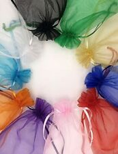 100Pcs Bags with Drawstring Mesh Jewelry Pouches Small Gift Bags for Wedding