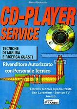 Manuale Riparazione  CD-PLAYER SERVICE Tecniche di misura e ricerca guasti