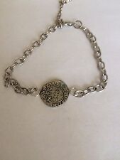 Edward I & II  Coin WC8 English Pewter on a Anklet / Bracelet