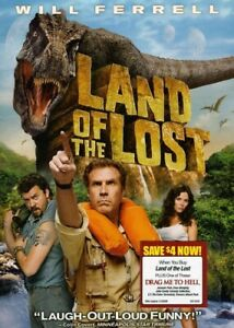 Land of the Lost DVD Will Ferrell Danny McBride