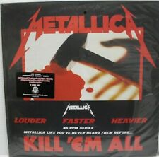 """METALLICA """"Kill ´Em All"""" 180 gr. Vinyl Double, 45 RPM HARD TO FIND NEW & SEALED"""