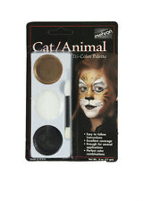 Tri-Color Palette Cat Animal Professional Makeup Kit