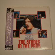 ROLLING STONES - The STONES in the park - 1991 JAPAN LASERDISC