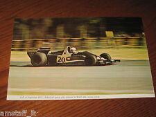 (33)*=G.P. F.1 ARGENTINA 1977 JODY SCHECKTER  WOLF=RITAGLIO=CLIPPING==FOTO=