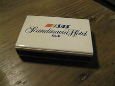SAS Scandinavian Airlines Scandinavia Hotel Oslo Norway 1980's Matches Matchbox