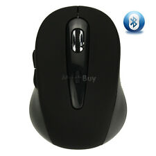 Wireless Mini Bluetooth Optical Mouse Black 1000 DPI for PC Android 3.1+ Tablet