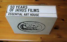 Essential Art House: 50 Years of Janus Films/Criterion Collection 50 disc R1 set