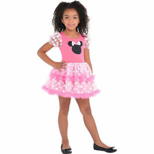 NEW Amscan Minnie Mouse Pink Dot Tutu dress Halloween Costume Child size 4/6