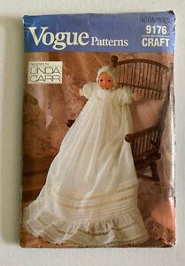 Vogue Craft pattern- Christening doll dress
