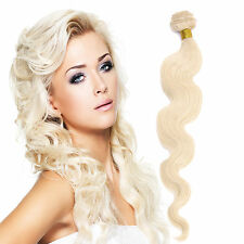 24inch #60 Body Wavy Weft Brazilian 100% Remy Real Human Hair Extensions 100gr