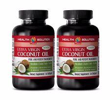 Antioxidant complex- COCONUT OIL EXTRA VIRGIN 3000mg -Natural acids vitamins- 2B