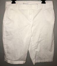 New York & Company NY&Co White Casual Shorts Women's Size 8