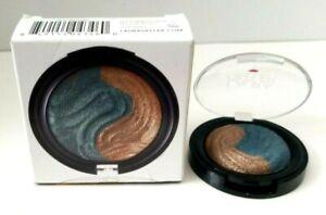 LAURA GELLER Baked Eclipse Eye Shadow Duo 0.08 oz BRONZE/EMERALD NEW IN BOX