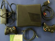 Microsoft Xbox 360 S 250 Gb 1439 Console w/ accessories and 2 controllers! Wow