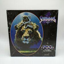 Schimmel Vintage Puzzle 700 Africa's Futur Lion Scellé