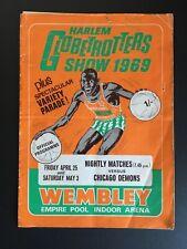 More details for harlem globetrotters show 1969 programme & ticket. wembley empire pool arena