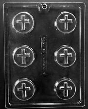 R073 Cross Cookie Chocolate Candy Soap Mold with Instructions