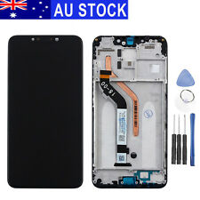 Replacement LCD Screen Digitizer Assembly Frame for XIAOMI Pocophone F1 Black